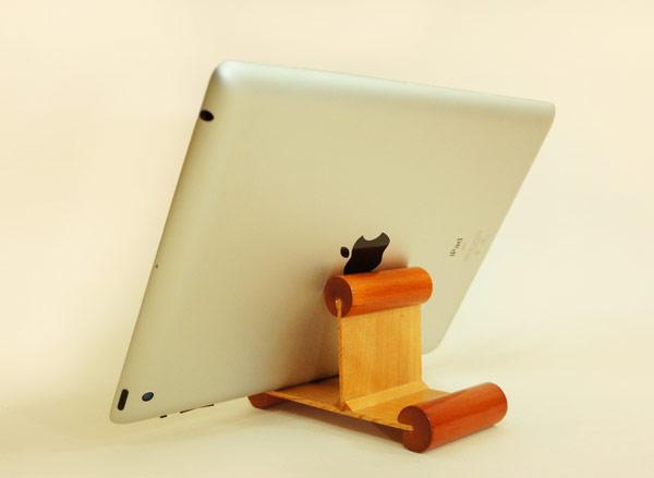 原木,設計,Mu life,手機座,平板電腦,iPad