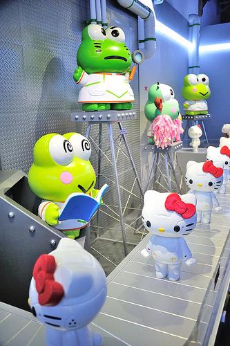 ROBOT KITTY未來樂園-機械KITTY微笑科技互動展,ROBOT KITTY未來樂園,ROBOT KITTY 機械KITTY,機器人凱蒂,Stayreal Kitty
