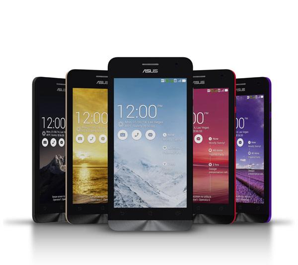 華碩全新智慧型手機Zenfone系列