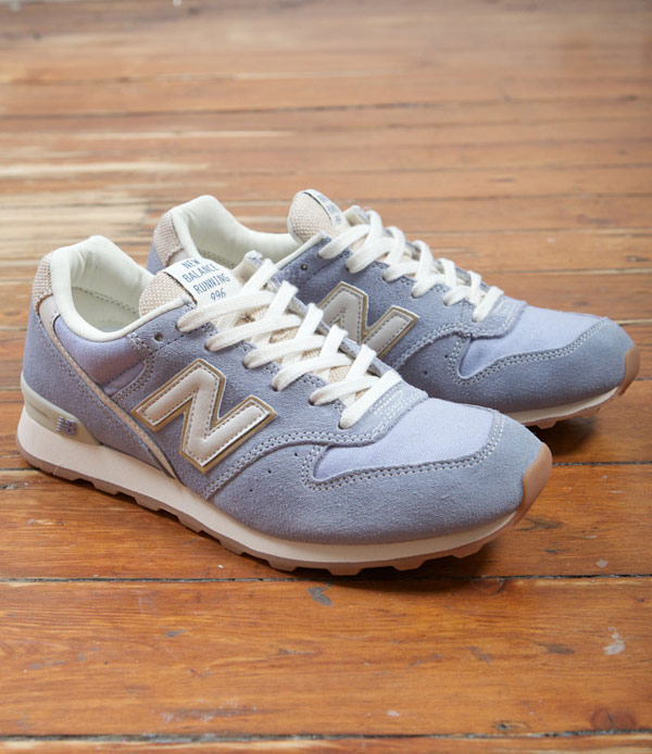 ▲New Balance 新款復古女鞋普羅旺斯薰衣草系列運動鞋WR996PCA