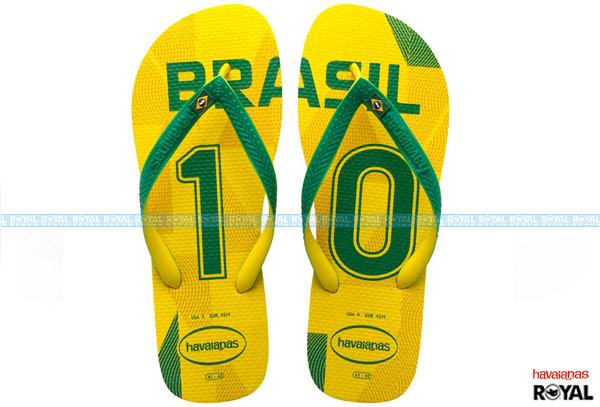 ▲巴西 havaianas H.TEAMS II CF 黃色 世足款 人字拖鞋 男款