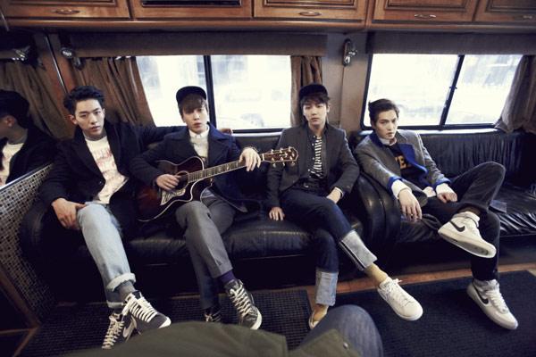 ▲暑假掀韓流,包括「CNBLUE」在內的韓星都即將來台。(圖/擷自CNBLUE臉書粉絲團)