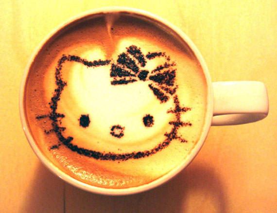 Hello Kitty拿鐵