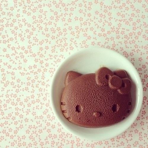 Hello Kitty巧克力布丁