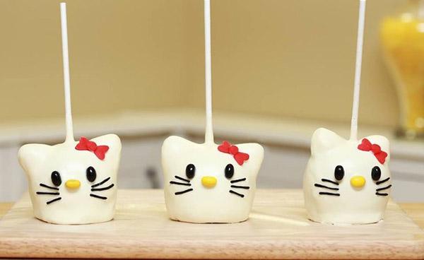 Hello Kitty白巧克力焦糖蘋果