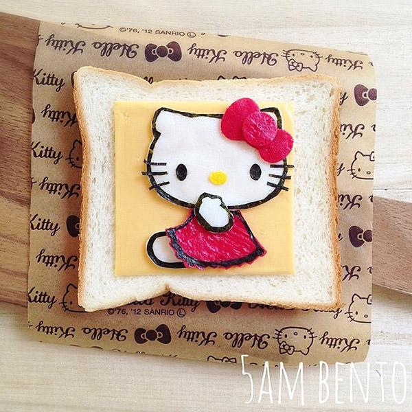 Kitty起司三明治