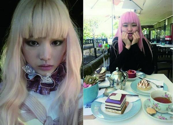 粉紅色女孩