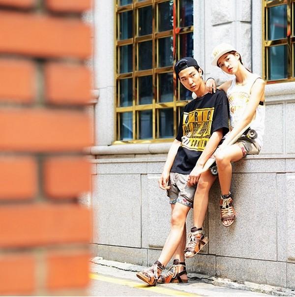 韓國情侶穿搭