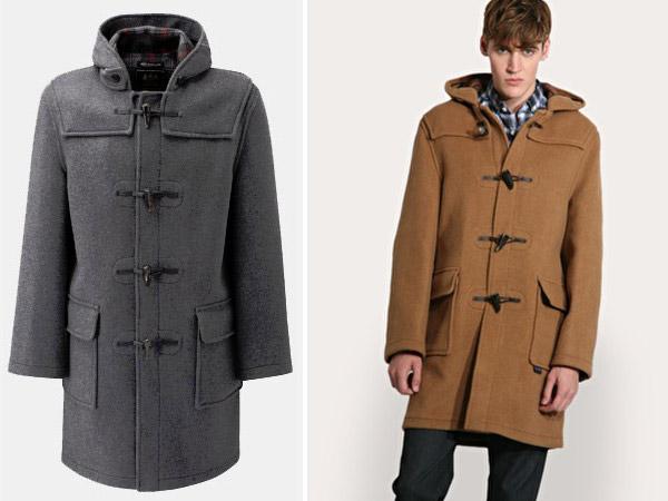 傳統典型的Duffle Coat