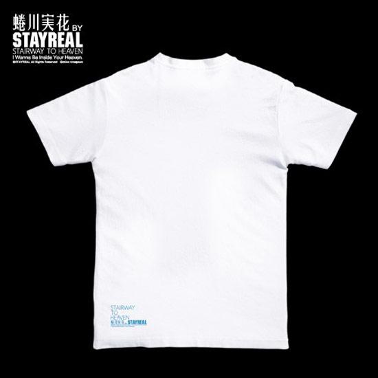 『Heaven』盛夏花語T恤背面