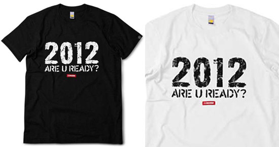 STAGE 2012 黑T恤