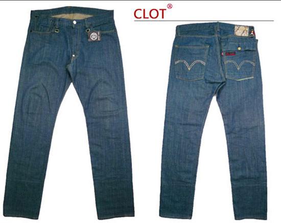 Levi's x Clot x Devilock聯名限定貼布破壞牛仔褲
