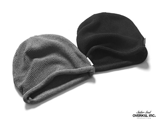 OVERKILL HEMMING BEANIE 混羊毛毛線帽