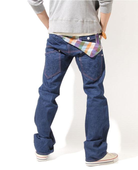 美式休閒、街頭風中的定番丹寧褲