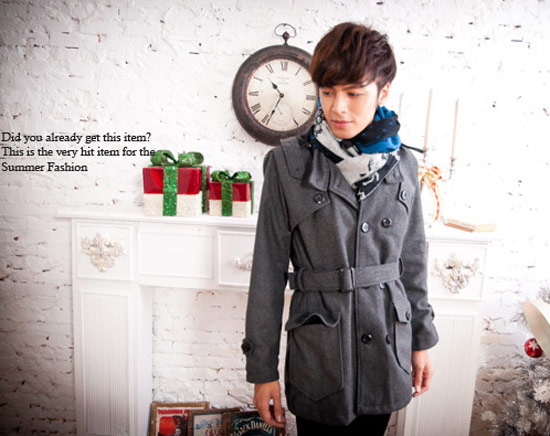 韓系軍風外套