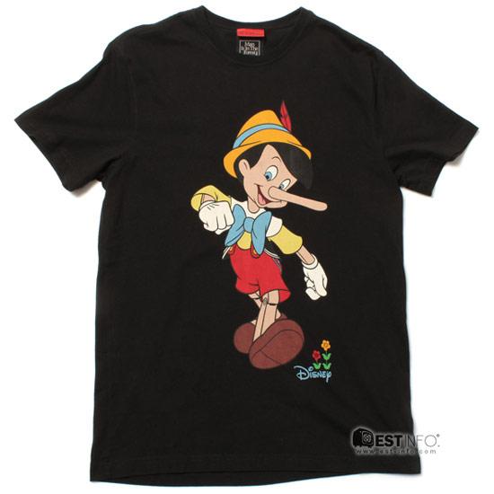 CLOT x DISNEY x Subcrew 聯名 Pinocchio Tee 小木偶 T恤