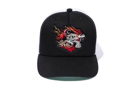 NY Dragon Mesh Cap