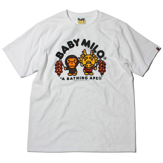 APE龍年限定T恤