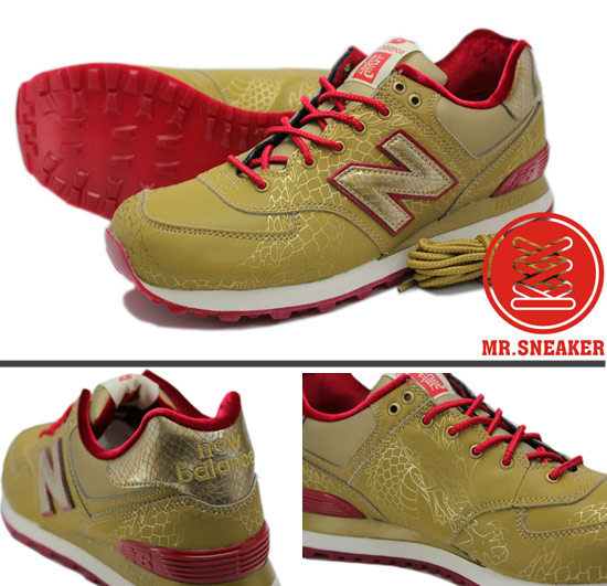 New Balance ML574金色
