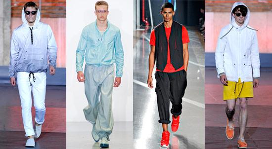 輕薄實穿帶有科技感的運動服裝搭配正式穿著,提升整體造型的機能性