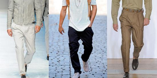 寬鬆剪裁的打摺褲讓休閒風格也能穿進正式場合。