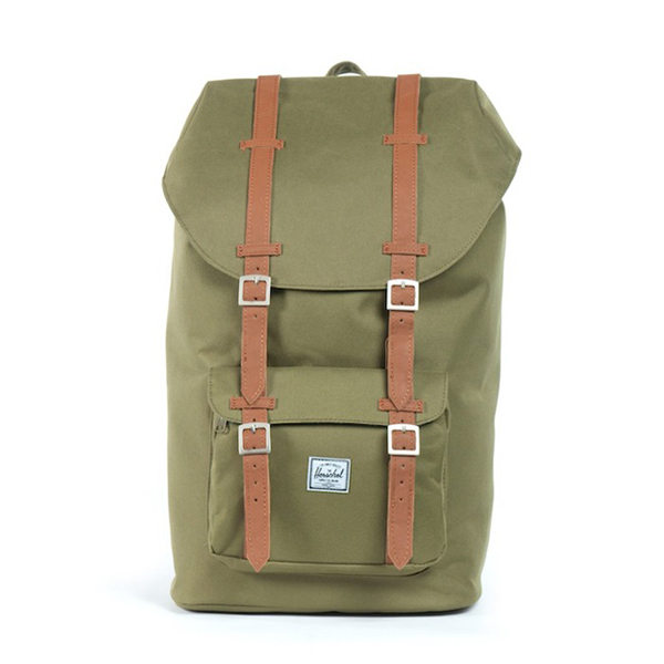 Herschel,outdoor背包,休閒包,草綠,後背包