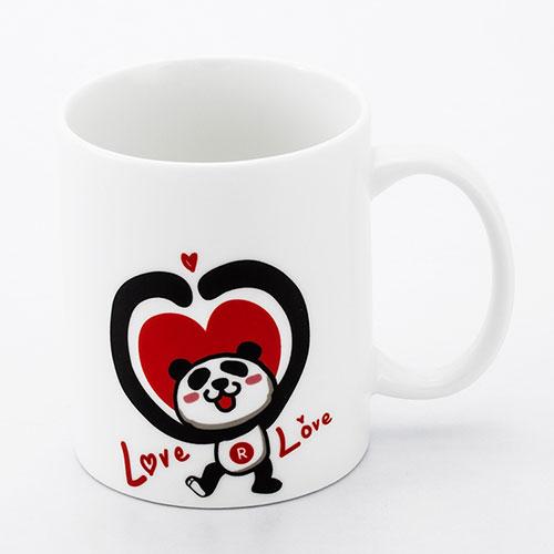 樂天幸運小熊馬克杯-love love款