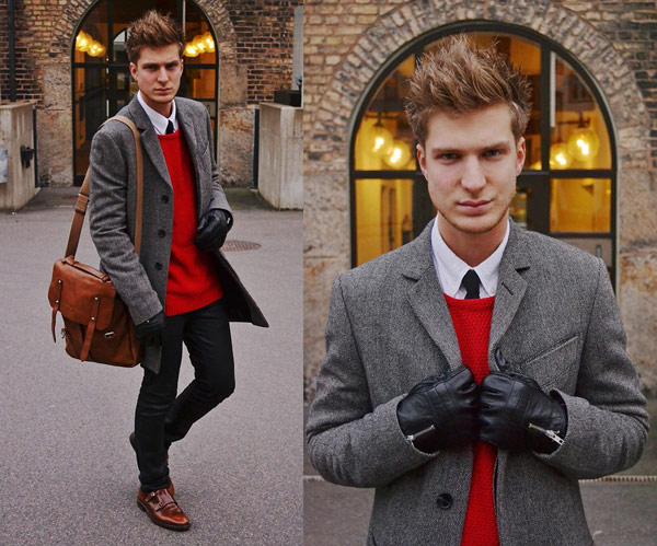 羊毛排扣外套,灰色長版大衣,長版西裝外套,羊毛西裝長版外套,素人街拍