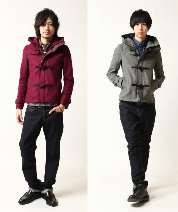 ZIP牛角扣外套,海軍風外套,羊毛牛角扣外套,羊毛牛角扣大衣,ZIP duffle coat