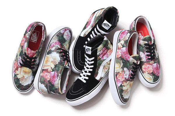 Supreme x Vans 2013, 春夏聯名款, 碎花, 滿版碎花