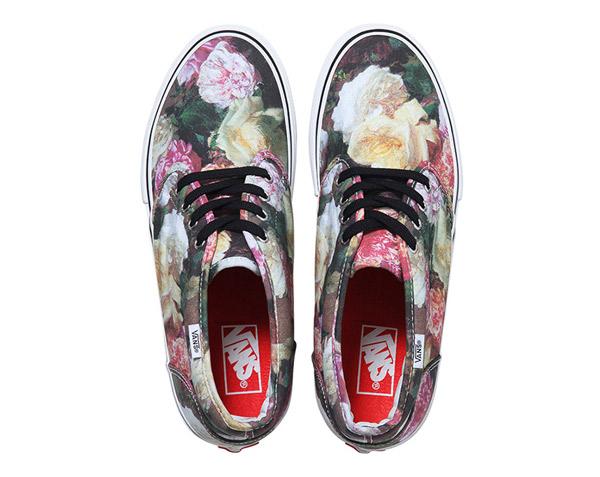Supreme x Vans 2013, 春夏聯名款, 碎花, 滿版碎花, Vans聯名款