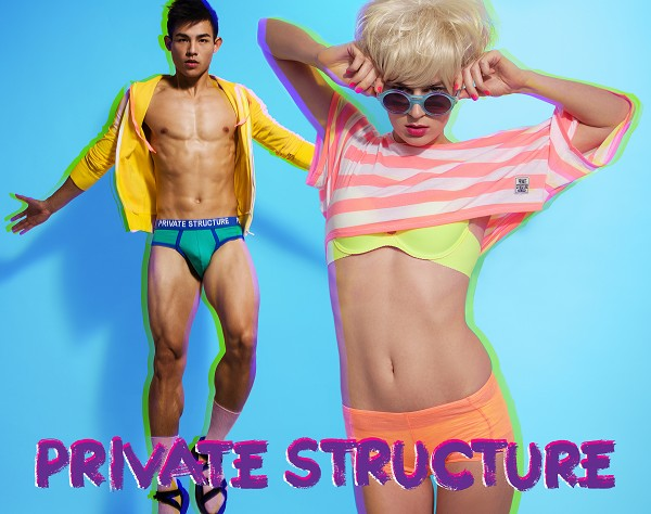PRIVATE STRUCTURE,P.S,WAXX,男性內衣,法國內衣品牌