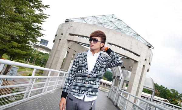 ☆ManStyle☆【01F1578】北歐風麋鹿針織西裝外套
