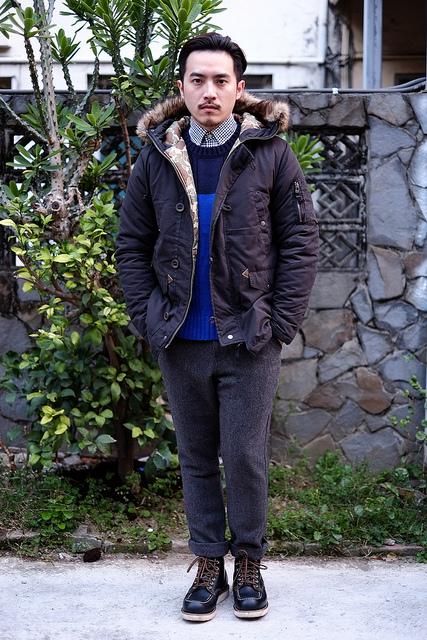Nick Wooster,秋冬男裝,全球最會穿,男裝穿搭,軍裝外套