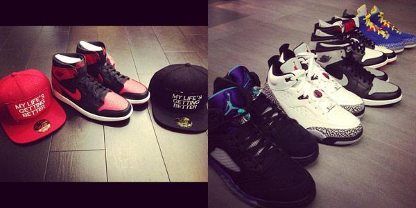 ▲身為Air Jordan收藏家的潘瑋柏,大方分享一雙雙令人垂涎的逸品。(圖/取自潘瑋柏臉書粉絲團)