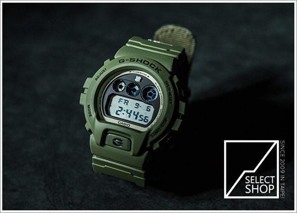 Casio G-Shock X UNDEFEATED UDFT DW-6901UD-3JR 軍綠