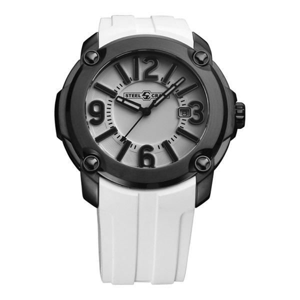 【STEELCRAFT】瑞士時尚紳士石英腕錶