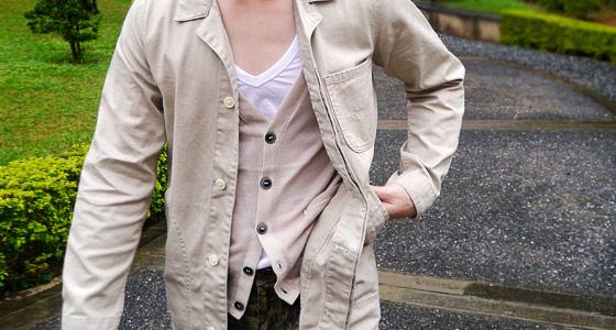 日本ZIP,樂天ZIP,迷彩軍大衣,迷彩風衣,風衣推薦,迷彩風格