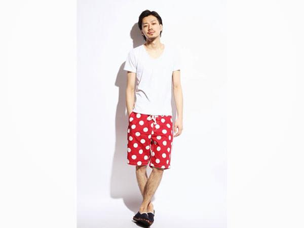 潮流短褲,對比色短褲,西裝短褲,亮色短褲,迷彩短褲