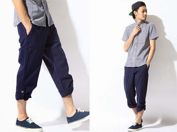 ZIP日本男裝,素色短褲,寬版素T,海洋風條紋短T,反摺膝上褲