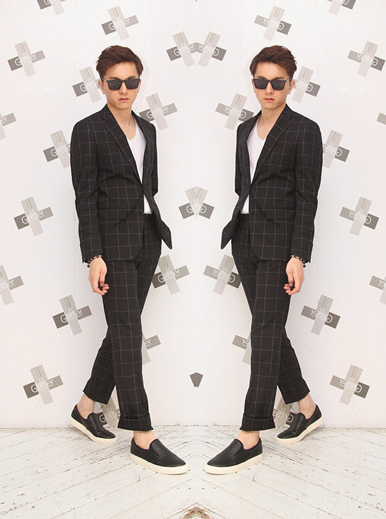 日系品牌ZIP, 日系穿搭,窄版九分褲,亨利領襯衫