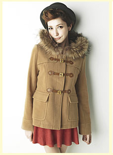 LENA x【INGNI】毛呢短裙