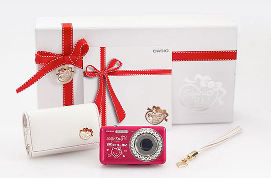 卡西歐CASIO Exilim EX-Z800 × HELLO KITTY Sanrio 50週年限量版