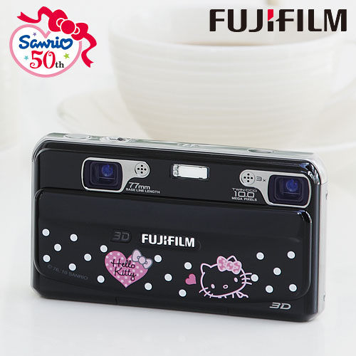 Fujifilm富士FinePix REAL 3D W1 × HELLO KITTY50週年紀念款