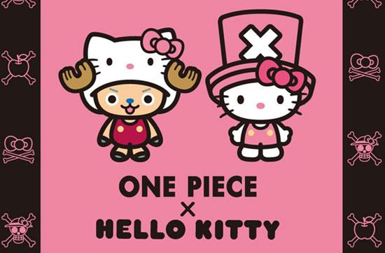 海賊王喬巴ONE PIECE×三麗鷗凱蒂貓HELLO KITTY的最新夢幻聯名。