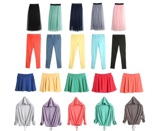 東京著衣,流行女裝,鉛筆褲,紗裙,棉裙