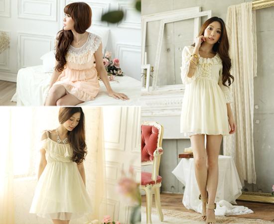 東京著衣,流行女裝,洋裝,雪紡紗,日系