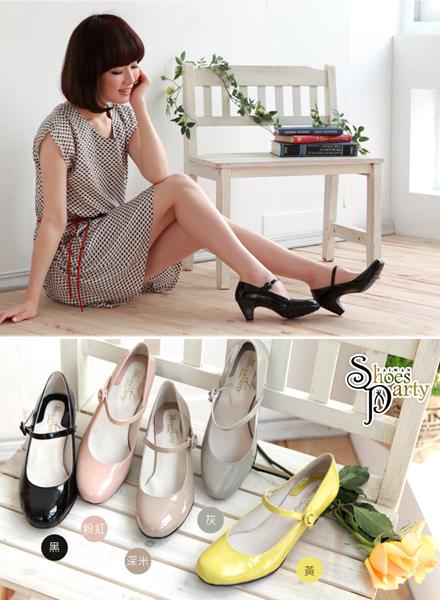shoes party,女鞋,瑪莉珍鞋,低跟鞋,中跟鞋
