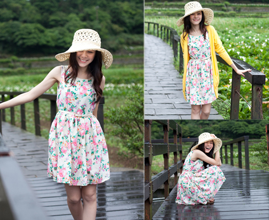 Joyce shop,碎花,印花,洋裝,裙款