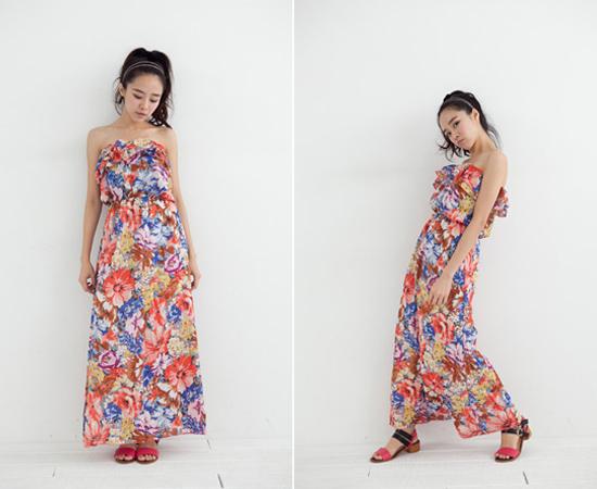 Joyce shop,碎花,印花,連身裙,雪紡洋裝